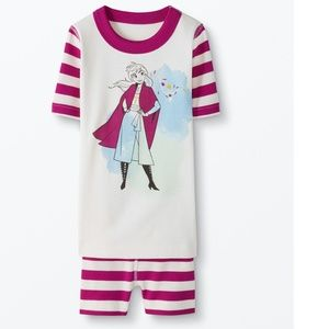 NWT Organic Frozen II Anna Hanna Andersson Pajamas